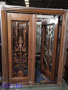 Z0YIMA/ G & K Great Door -Luxry Competitive Glavanized Exterior Beautiful Glasses Door ZYM-K107