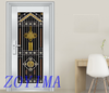 Z0YIMA/ G & K Great Door - Toughened Exterior Stainless Steel Glasses Doors ZYM-S6688