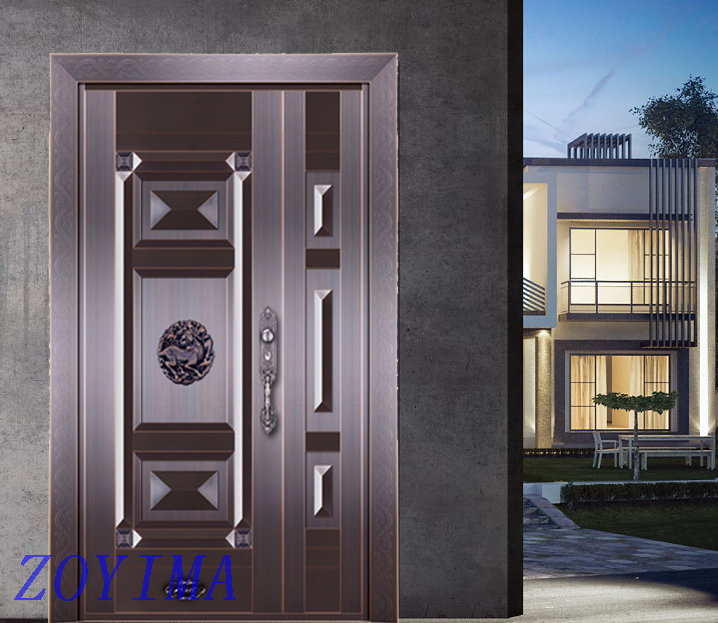 Z0YIMA/ G & K Great Door Pure Copper Door FD-T15