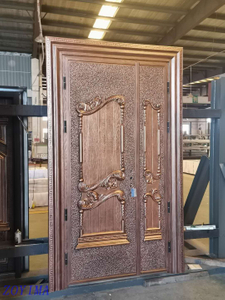 Z0YIMA/ G & K Great Door -Luxry Cast Aluminium Imitation Copper Door ZYM-K116
