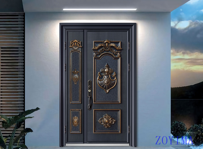 Z0YIMA/ G & K Great Door -Nigeria Luxry Competitive Glavanized Door ZYM-N8023