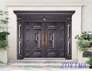 Z0YIMA/ G & K Great Door - Competitive Price Steel Door ZYM-T 7009
