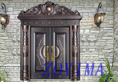 Z0YIMA/ G & K Great Door - Metal Entrance Seucrity Door ZYM-M2036