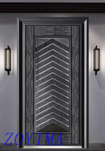 Z0YIMA/ G & K Great Door -High Quality Cast Aluminum Bullet-proof Doors Supplier ZYM-Z9809