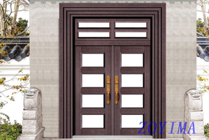 Z0YIMA/ G & K Great Door - Competitive Toughened Glasses Door ZYM-B1005
