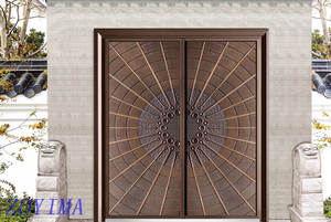 Z0YIMA/ G & K Great Door -High Quality Cast Aluminum Doors Supplier ZYM-Z9810