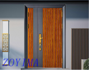 Z0YIMA/ G & K Great Door-Security Steel Front Safety Glavanized Doors GST-189M