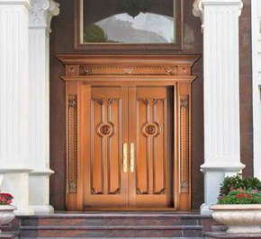 Problems that should be paid attention to during the use of copper doors