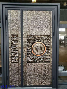 Z0YIMA/ G & K Great Door - Nigeria Market Cast Aluminium Imitation Copper Door ZYM-K118