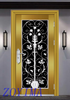 Z0YIMA/ G & K Great Door - Toughened Stainless Steel Glasses Golden Color Window Connect Door ZYM-S110