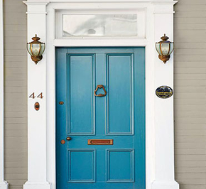 Wooden door decoration acceptance method