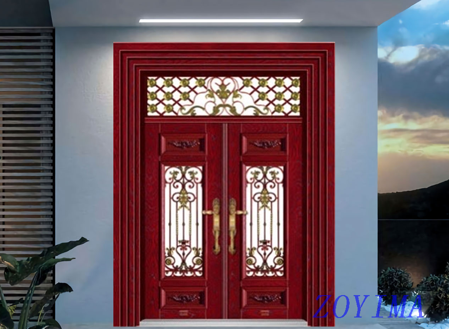 Z0YIMA/ G & K Great Door - Competitive Promotion Lxury Toughened Glasses Stronger Door ZYM-B1031