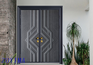 Z0YIMA/ G & K Great Door -Lxury Cast Aluminum Front Entry Doors Z-9015