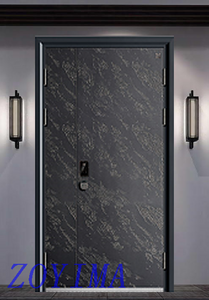 Z0YIMA/ G & K Great Door-Security Steel Doors DEF-101