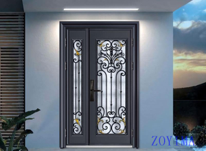 Z0YIMA/ G & K Great Door -Nigeria Lagos Luxry Glasses Door ZYM-N9057