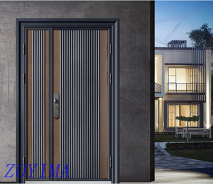 Z0YIMA/ G & K Great Door -Lxury Cast Aluminum Bullet-proof Safety Beautiful Doors GK-8053