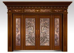 Several points of attention in the use of copper doors
