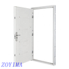 Z0YIMA/ G & K Great Door-Cheap Security Steel Front Door FD-E100 White Color
