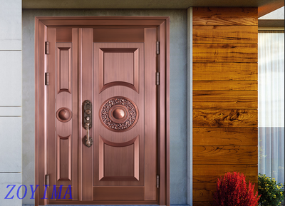 Z0YIMA/ G & K Great Door Pure Copper Door FD-T4